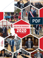 Mon bilan de mandat 2020