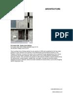 Architecture - January 2021