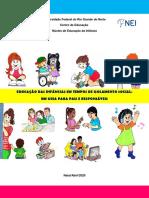 GUIA_EDUCAÇÃO DAS INFÂNCIAS EM TEMPOS DE ISOLAMENTO SOCIAL_NEI_CAP_UFRN