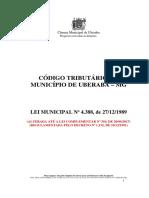Lei 4388.89 - Codigo Tributario Atualizado