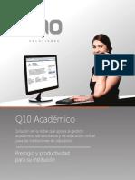 Brochure Q10 Académico (Educación para el Trabajo)