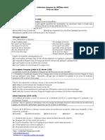 Litterature francaise du XVIIeme siecle-fiche de eleve