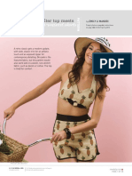 women's short and bustier sewing patterns