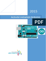Activite Initiation Arduino