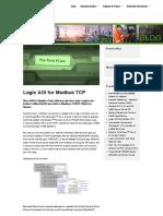 Logix AOI for Modbus TCP – The Reynolds Company _ Blog