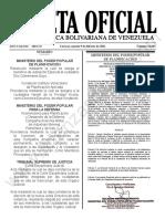 Gaceta Oficial N°42.065