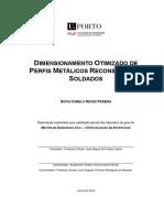 Dimensionamento Otimizado de Perfis Metalicos Reconstituidos Soldados