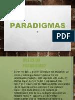 SESION 8 CONEPTO DE PARADIGMA
