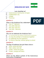 Andalusia Day Quiz