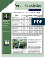 Loma Verde Newsletter Feb 2011