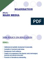 Youth Organisation,Ncc,Mass Media