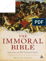 The Immoral Bible Approaches to Old Testament Ethics by Eryl Wynn Davies (Z-lib.org)