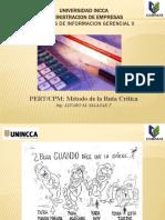SISTEMAS DE INFORMACION GERENCIAL II - PERT/CPM
