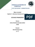 Estructura financiera de la entidad - cap 5