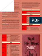 Book of Fire Magic (MicroChapRPG Magic-1)