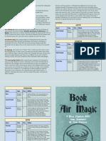 Book of Air Magic (MicroChapRPG Magic-4)