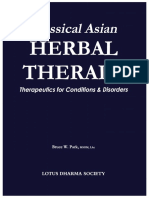 Classical Asian Herbal Therapy