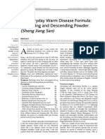 An Everyday Warm Disease Formula Ascendi