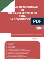 Manual de Seguridad en Trabajos Verticales Para La Construccion