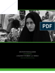 Institutionalized Violence Against Women and Girls in Iraq