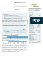 Cspx Ishares Core s p 500 Ucits Etf Fund Fact Sheet de De