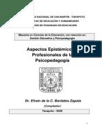 Manual a. E. y P. de La Psicopedagogía