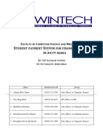 student payment system proposal