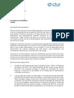 Peticiones de la Cámara Colombiana de Turismo para el Señor Presidente de la República