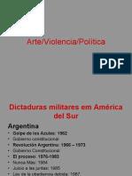 Arte violencia política