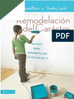 Remodelacion Del Caracter