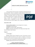 MODELO RELATORIO PRODUCAO