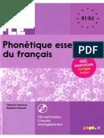Phonetique Essentielle Du Francais b1 b2