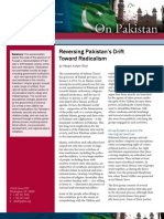 Reversing Pakistan's Drift Toward Radicalism