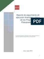 Reporte Seg Fisicas Financiera 2do Sem2015