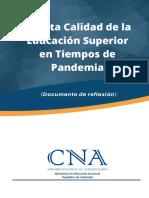 20201009 CNA Alta calidad en tiempos de pandemia