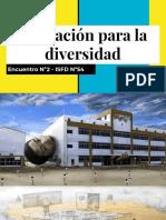 Educación Para La Diversidad - Clase 2