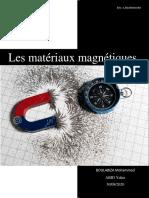 Les matériaux magnétiques BM