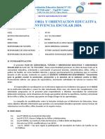 PLAN DE TUTORIA , ORIENTACION EDUCATIVA Y CONVIVENCIA ESCOLAR 2020 - ok
