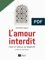 L'amour interdit, sexe et tabous au Maghreb_Michaëlle Gagnet
