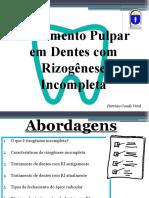 Patricia Vital - Rizogenese Incompleta AULA COMPLETA
