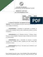 Decreto nº 0107.2021