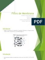 Filtros por Membranas