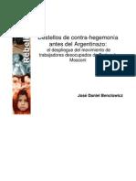 Destellos de contrahegemonia antes del argentinazo