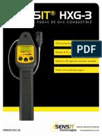 Sensit Hxg3-Ul Brochure Spanish