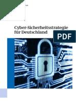 Cyber-Sicherheitsstrategie für Deutschland
