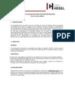 Presentación, Objetivos y Metodología
