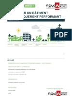 Concevoir Un Bâtiment Énergétiquement Performant - Module 1