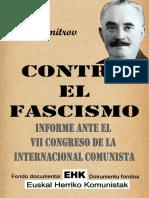 Jorge Dimitrov Contra El Fascismo