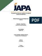 Metodología de la Investigación I  - 3ra SEMANA