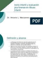 Manzanero - El testimonio infantil y evaluación psicológica fo